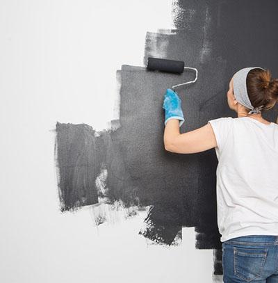 lessiver avant peinture ou pose de papier peint www. Black Bedroom Furniture Sets. Home Design Ideas